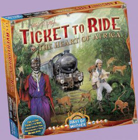Ticket to Ride: The Heart of Africa (дополнение)